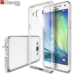Protect the back and sides of your Samsung Galaxy A3 2015 with this incredibly durable and crystal clear backed Fusion Case and bumper by Ringke.