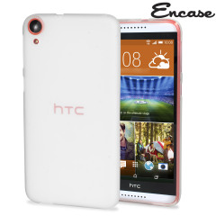 Encase FlexiShield HTC Desire 820 Case - Frost White