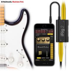 Interfaccia per Chitarra IK Multimedia iRig 2 per iOS, Android & Mac