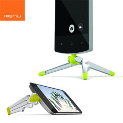 Le support Kenu est le premier trépied au monde spécialement conçu pour les smartphones Micro USB. Le montage se fait directement sur le port Micro USB pour une stabilité sous n'importe quel angle. Parfait pour prendre des photos.