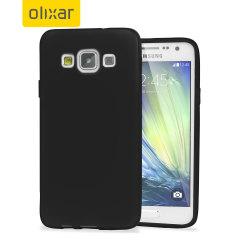 Encase FlexiShield Case Samsung Galaxy A3 2015 Hülle in Schwarz