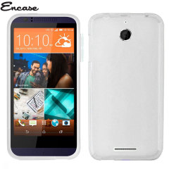 Custom moulded for the HTC Desire 510. This frost white FlexiShield case from Encase provides a slim fitting stylish design and durable protection against damage, keeping your Desire 510 looking great at all times.
