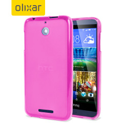 Custom moulded for the HTC Desire 510. This pink FlexiShield case from Olixar provides a slim fitting stylish design and durable protection against damage, keeping your Desire 510 looking great at all times.