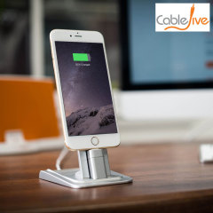 CableJive HeroDock Aluminium Desk Stand for Smartphones and Tablets