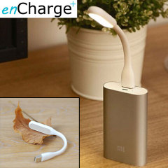enCharge USB Portable LED Light - White