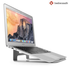 Position your MacBook, laptop or tablet at the perfect angle for viewing and typing with the Twelve South ParcSlope Stand while your cables stay neatly stored away so that you can keep your devices fully charged whilst in use.