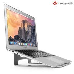 Coloque el MacBook, el portátil o la tableta en el ángulo perfecto para ver y escribir con el stand de Twelve South ParcSlope mientras sus cables permanecen bien guardados para que pueda mantener sus dispositivos completamente cargados durante el uso.