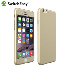 SwitchEasy AirMask iPhone 6S / 6 Protective Case - Champagne Gold