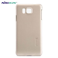 Nilkin Super Frosted Shield Hülle für Samsung Galaxy Alpha in Gold