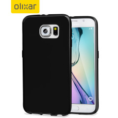 Custom moulded for the Samsung Galaxy S6, this black FlexiShield case by Olixar provides slim fitting and durable protection against damage.