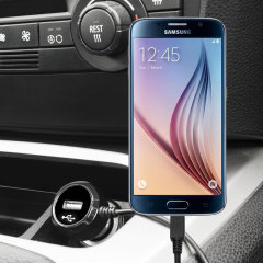 Keep your Samsung Galaxy S6 fully charged on the road with this high power 2.4A Car Charger, featuring extendable spiral cord design. As an added bonus, you can charge an additional USB device from the built-in USB port!
