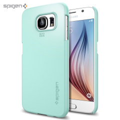 Spigen Thin Fit Samsung Galaxy S6 Shell Case - Mint