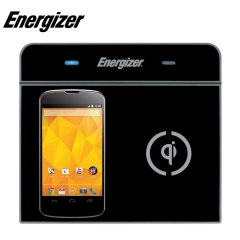 Energizer Qi Dual Wireless Charging Pad with EU AC Adapter