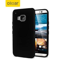 Custodia Gel Olixar per HTC One M9 - Nero
