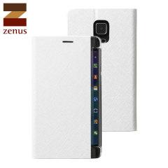 Zenus Minimal Diary Samsung Galaxy Note Edge Tasche in Weiß