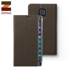 Zenus Metallic Diary Samsung Galaxy Note Edge Case - Bronze