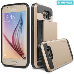 VRS Design Damda Slide Samsung Galaxy S6 Hülle in Champagne Gold
