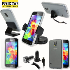 The Ultimate Pack for the Samsung Galaxy S5 Mini consists of fantastic must have accessories designed specifically for the Galaxy S5 Mini.