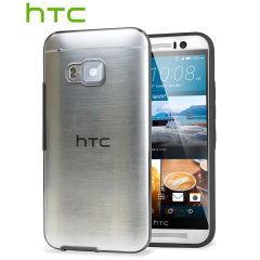 Original HTC One M9 Clear Case - Clear / Onyx Schwarz