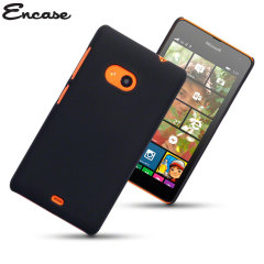 Encase ToughGuard Nokia Lumia 535 Rubberised Case - Black