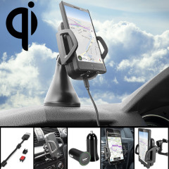 Olixar Qi Wireless Charging Car Holder Pack