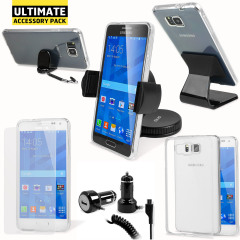 Das Ultimate Pack Samsung Galaxy Alpha Zubehör Set