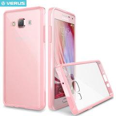 Verus Crystal Mix Galaxy A7 Suojakotelo - Kristalli vaaleanpunainen
