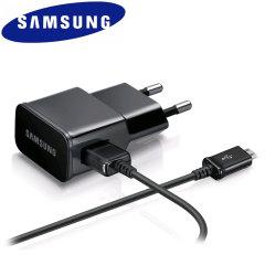 Cargador Samsung Oficial 1A con Cable Micro USB - Negro