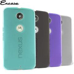 4 Pack Encase FlexiShield Google Nexus 6 Cases