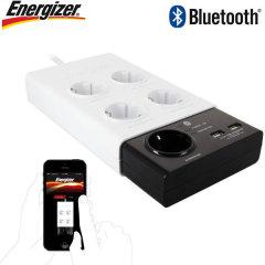 Energizer 5-Fach Netzstecker mit Dual USB Adapter - Bluetoothfunktion