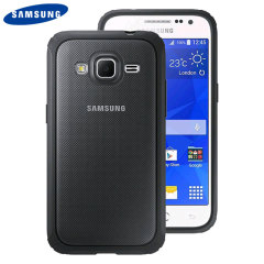 Official Samsung Galaxy Core Prime Protective Cover Hard Case - Grey