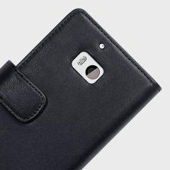 Olixar Genuine Leather Nokia Lumia 930 Wallet Case - Black