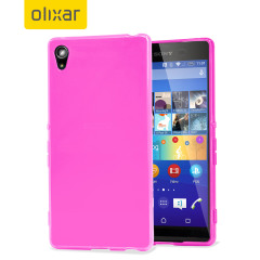 FlexiShield Sony Xperia Z3+ Gel Case - Light Pink