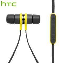 Official HTC Active Headset IP57 Sport Earphones - Black / Yellow