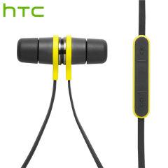 Auriculares deportivos IP57 HTC Active Headset - Negro / Amarillo