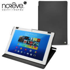 Noreve Tradition Sony Xperia Z4 Tablet Leather Case - Black