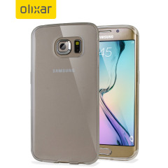 Olixar FlexiShield Samsung Galaxy S6 Edge Gel Case - Frost White