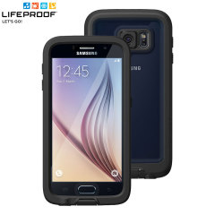 Make your phone waterproof and experience the freedom to surf, sing in the shower, ski, snowboard, work on construction sites and have true Samsung Galaxy S6 mobile freedom anywhere you go with this black LifeProof Fre case.