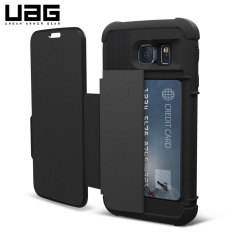UAG Folio Samsung Galaxy S6 Protective Wallet Case - Black