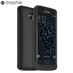 Coque Samsung Galaxy S6 Edge Mophie Juice Pack - Noire