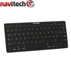 Make typing texts, documents and long e-mails a pleasure with this Universal Bluetooth AZERTY  Keyboard with sleep function.
