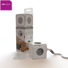 Multi prise Allocacoc 4 prises secteur + 2 prises USB extension 1.5m