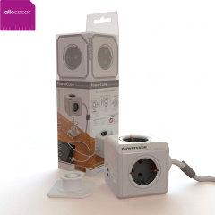 PowerCube allocacoc que amplia a 4 enchufes de EU y 2 USB - 1.5 m