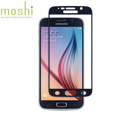 Designed for the Galaxy S6, the black iVisor Glass Screen Protector from Moshi has been designed to protect your display while ensuring the screen maintains the highest possible level of fingertip sensitivity and clarity.