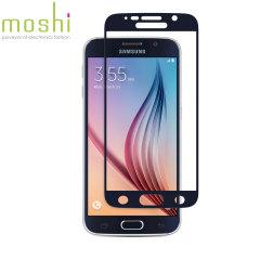 Pellicola protettiva in vetro Moshi iVisor per Galaxy S6 - Nero