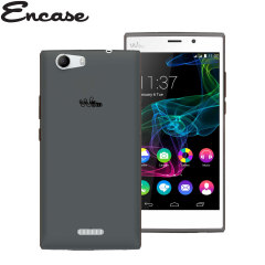 Custodia FlexiShield Encase per Wiko Ridge Fab 4G - Fumo