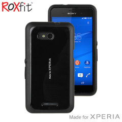 Roxfit Gel Shell Slim Sony Xperia E4g Case - Black