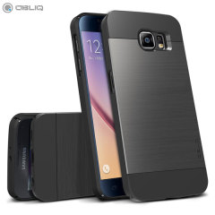 Obliq Slim Meta Samsung Galaxy S6 Skal - Titanium Rymdgrå