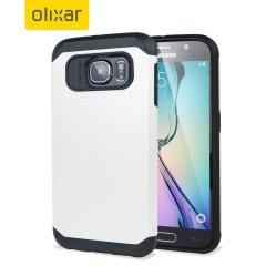 Custodia ArmourShield Olixar per Samsung Galaxy S6 - Bianco