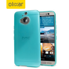 Custom moulded for the HTC One M9 Plus, this solid light blue Olixar FlexiShield case provides slim fitting and durable protection against damage.